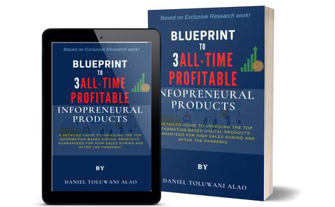 Blueprint to  3-All Time Profitable Infopreneurial Products (For your financial freedom!)