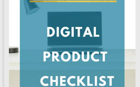 Digital Product Checklist