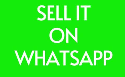 Sell It On Whatsapp