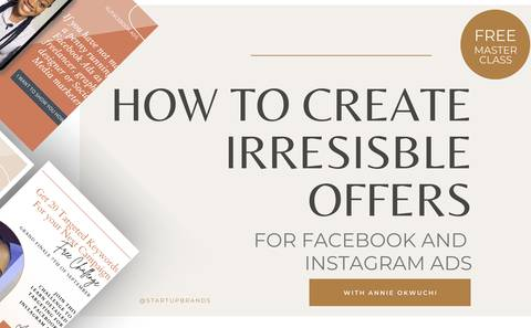How to Create Irresistible Offers for Facebook and Instagram Ads