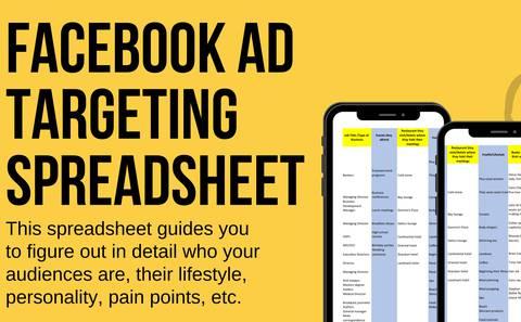 Facebook Ads Targeting Spreadsheet