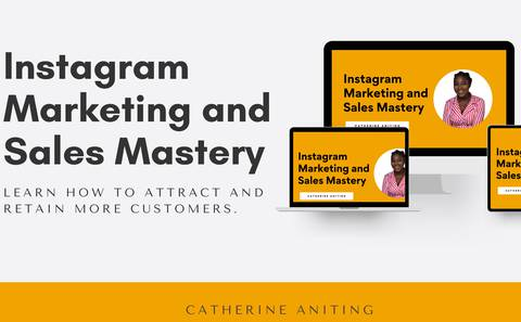 Instagram Marketing and Sales Mastery Course