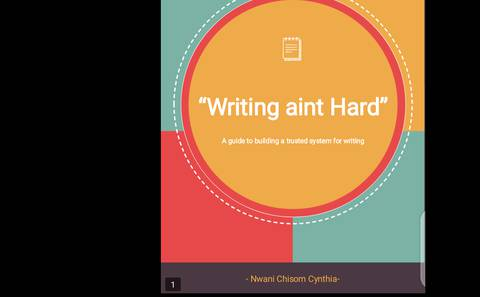 Writing ain't hard