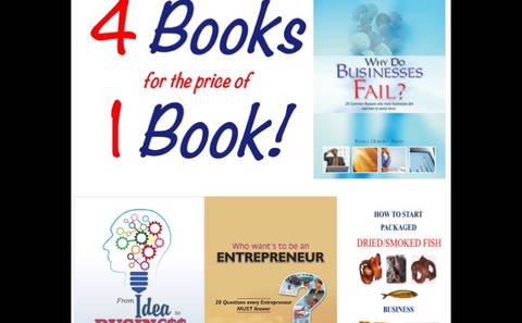 4 BOOKS FOR THE PRICE OF 1 BOOK PROMO