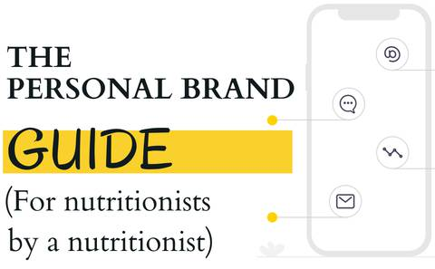 A personal branding guide for nutritionists