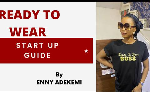 READY TO WEAR START UP GUIDE (online course)