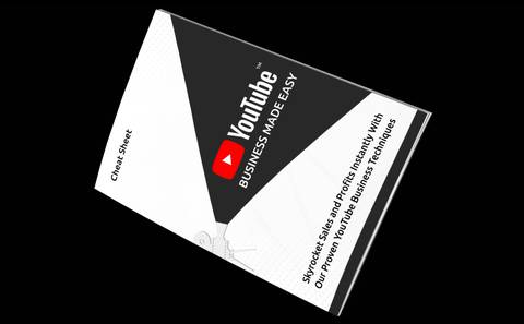 YouTube Business Made Easy | This is a proven and productive way to become successful.