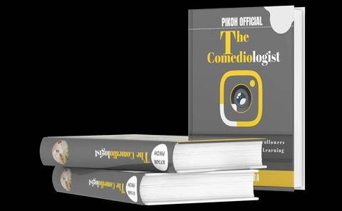 PIKOH OFFICIAL: The Comediologist - How To Hit Your 100,000 Followers On Instagram In 8 Months Learning From This eBook