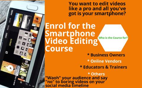 Learn how to CREATE and EDIT stunning videos with your Smartphone {I)