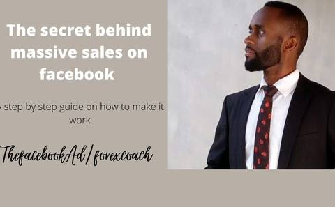 The secret behind massive sales on Facebook with a step by step guide on how to make it work.