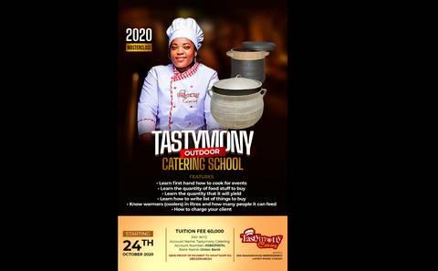 Tastymony Catering School 2020 Masterclass