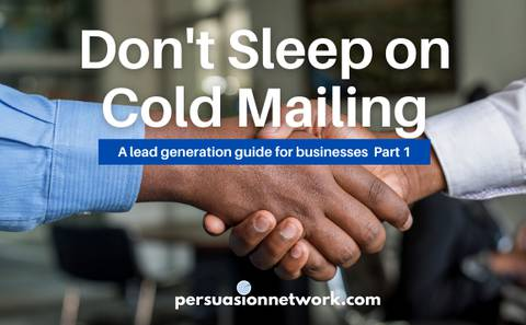 Don't  Sleep on Cold Mailing