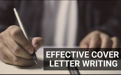 Effective Cover Letter Writing