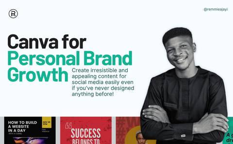 CANVA For Personal Brand Growth