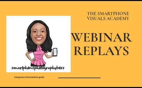 Webinar Replays