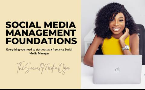 SOCIAL MEDIA MANAGEMENT FOUNDATIONS