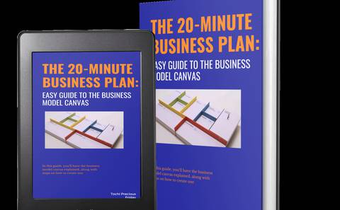 The 20-Minute business plan: easy guide to the business model Canvas.