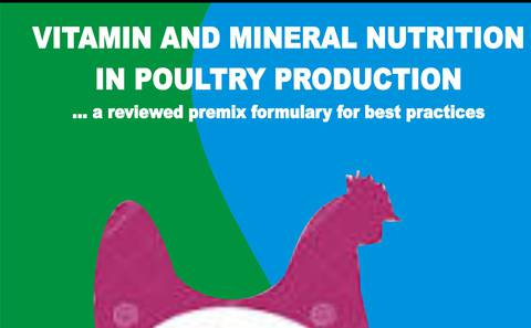 VITAMIN AND MINERAL NUTRITION IN POULTRY PRODUCTION