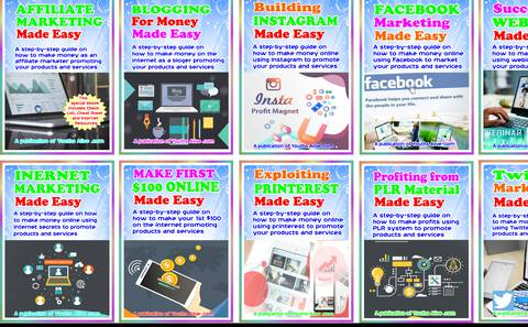 12 eBooks Make Money Online Bundle, A Publication of Youths Alive.com