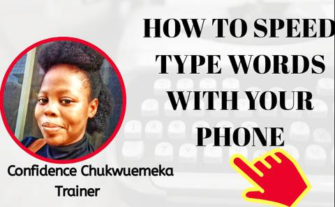How to Speed Type 1000 words in 5mins or Less Using Your Phone Only