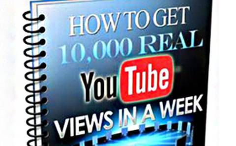 HOW TO GET 10,000 REAL YOU-TUBE VIEWS IN A WEEK