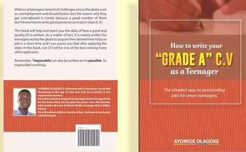How to write a grade A CV as a teenager.