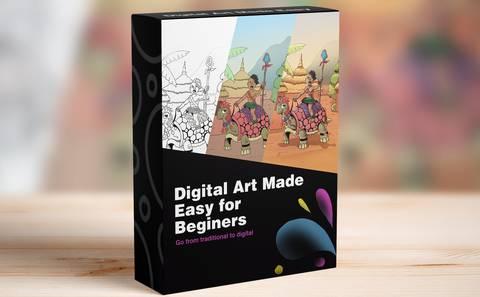 Digital Art Made Easy for Beginners