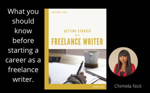 GET STARTED AS A FREELANCE WRITER