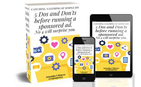 5 Dos and Don'ts before running a sponsored ad, No 4 will surprise you.