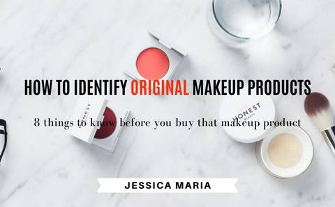 HOW TO IDENTIFY ORIGINAL MAKEUP PRODUCTS