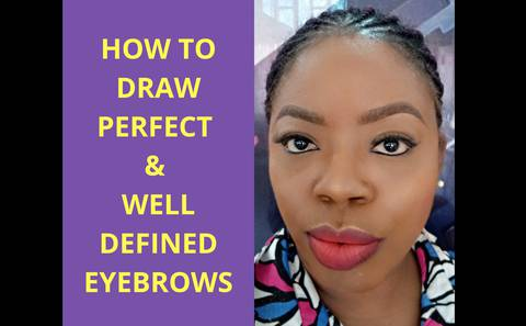 How To Draw Perfect & Well Defined Eyebrows