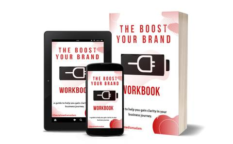 THE BOOST YOUR BRAND WORKBOOK