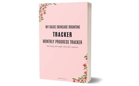 My Basic Skincare routine tracker