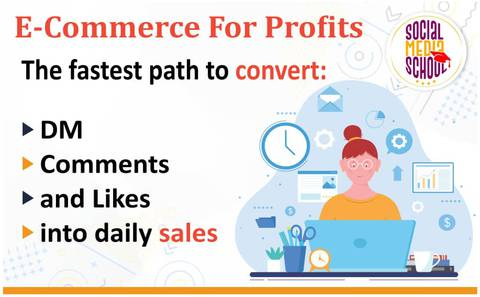 E-commerce for profit: The fastest path to convert DM, comments, and likes into daily sales.