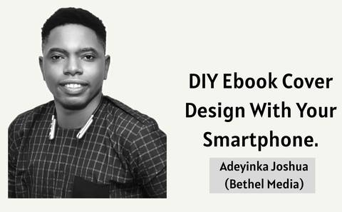 DIY EBOOK COVER DESIGN WITH YOUR SMARTPHONE