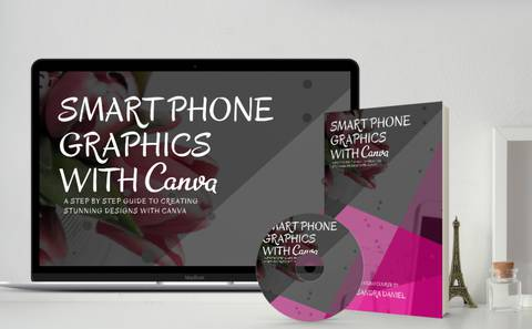 Smartphone Graphics Design with Canva