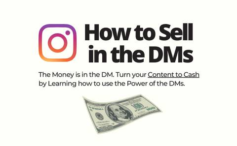 HOW TO SELL IN THE DMS Masterclass- The Ultimate Guide to more Sales on Instagram
