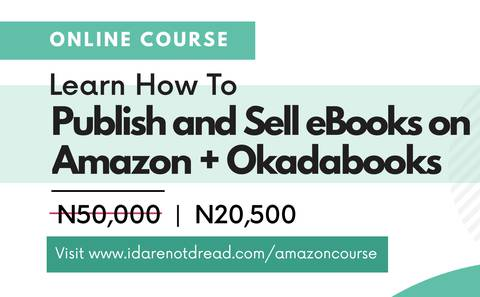 How to self-publish and sell Books on AMAZON and OKADABOOKS