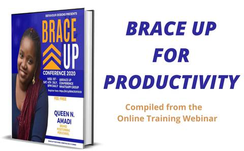 BRACE UP YOURSELF AND LAUNCH OUT FOR PRODUCTIVITY AND PROFIT.