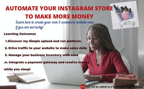 Automate Your Instagram Store To Make More Money