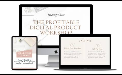 The Profitable Digital Products Plan
