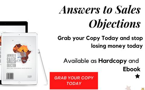 ANSWERS TO SALES OBJECTIONS
