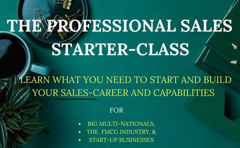 Starting Your Career as a Sales Professional in any Industry
