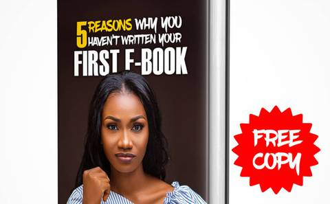 5 Reasons you havent written your first ebook