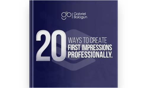 20 Ways to Create First Impressions Professionally