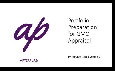 How to complete your GMC appraisal portfolio and prepare for your meeting