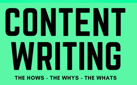 CONTENT WRITING – THE HOWS, THE WHYS, THE WHATS
