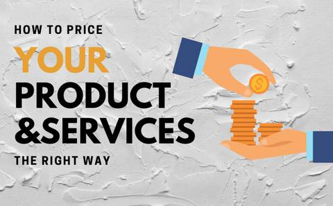 How To Price Your Product & Services (the right way)
