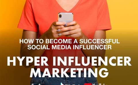 Social media influencer training
