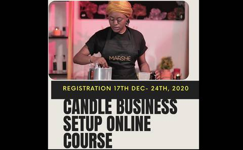 Candle Business Setup Online Course